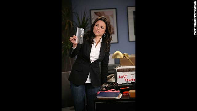 "Julia Louis-Dreyfus as Christine Campbell, who runs a women's gym, in ""The New Adventures of Old Christine."""