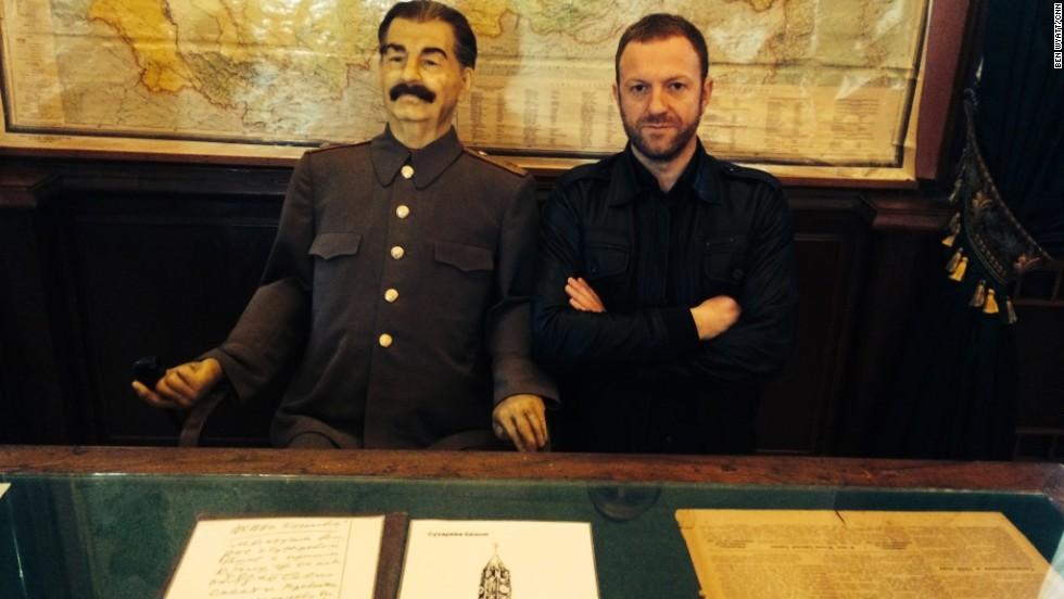 En la casa de verano de Stalin en Sochi