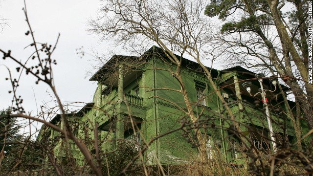 It is said Stalin enjoyed the fresh mountain air and Sochi's pleasant climate, especially when recovering from poor health in later life. He grew lemons in the grounds from which he made a medicinal drink, according to a dacha guide.