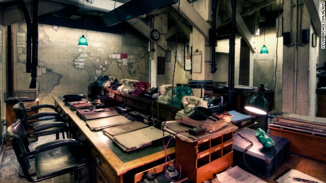 The Cabinet War Rooms -- part of the Churchill War Rooms museum -- preserves many day-to-day artifacts used by British leaders during World War II.