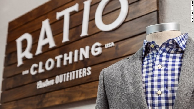 Ratio Clothing founder Eric Powell moved from Chicago to launch his custom-made shirt business because he was attracted to its affordable, outdoor-centric lifestyle. He figured a good place to live would also be a good place to work.