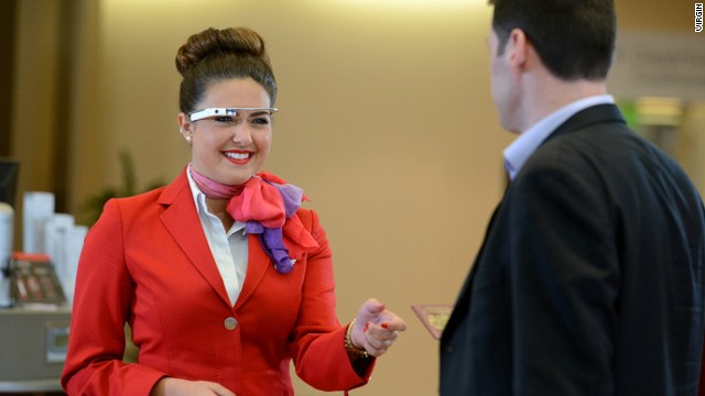 Virgin Atlantic prueba las Google Glass en un aeropuerto