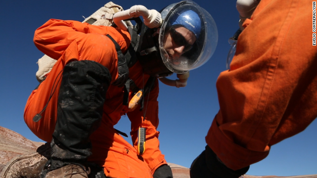 NASA says it is focused on sending people to Mars in the 2030s and research is already under way.