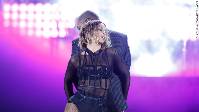 "<a href='http://www.youtube.com/watch?v=1b1loWJfxaA&list=TLBEoDqNTHyfLXILEJZG8oDooOnG_OE0-p' target='_blank'>Beyoncé on Jay-Z</a>: ""The day that I got engaged was my husband's birthday and I took him to Crazy Horse. And I remember thinking, 'Damn, these girls are fly' -- I just thought it was the ultimate sexy show I've ever seen. And I was like, 'I wish I was up there, I wish I could perform that for my man.' So that's what I did."""