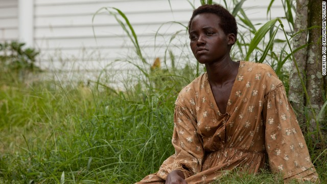 """12 Years A Slave,"" directed by Steve McQueen, was Nyong'o's first feature film."