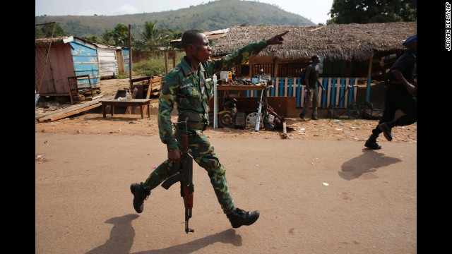 Photos: Crisis in the Central African Republic