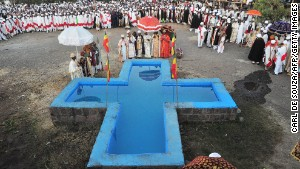 Holy water washes away sins in Ethiopia