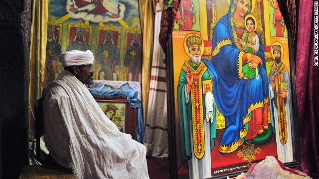 Nearly two-thirds of Ethiopia's population is Christian, and the majority of that number belong to the Orthodox church.