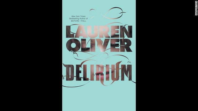"""Delirium"" trilogy by Lauren Oliver"