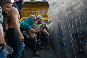 Marchas y disturbios en Venezuela