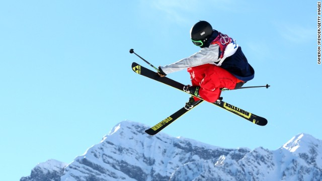 Joss Christensen won gold -- his first success in a major competition before, having qualified for the Olympics just two weeks ago.