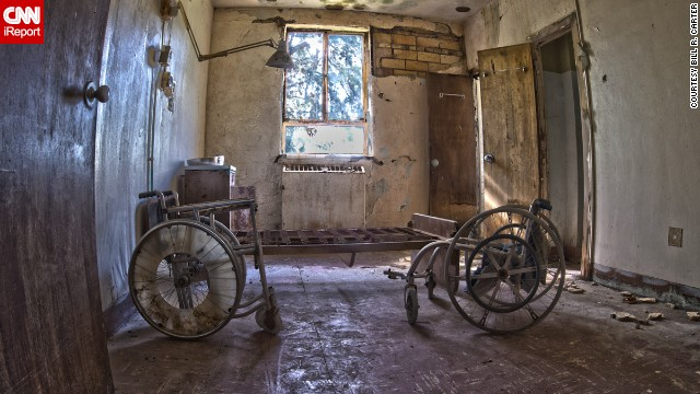 The hospital closed in the 1980's and is available for para