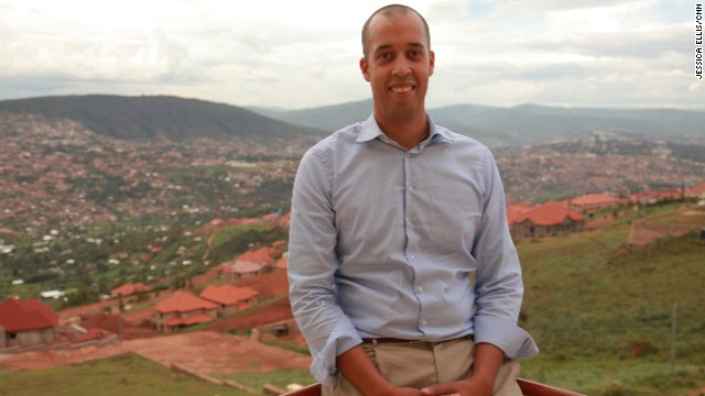 """""""I am a firm believer that Africa -- and Rwanda -- is in no need of aid or government programs but of private sector investments,"""" he says."""