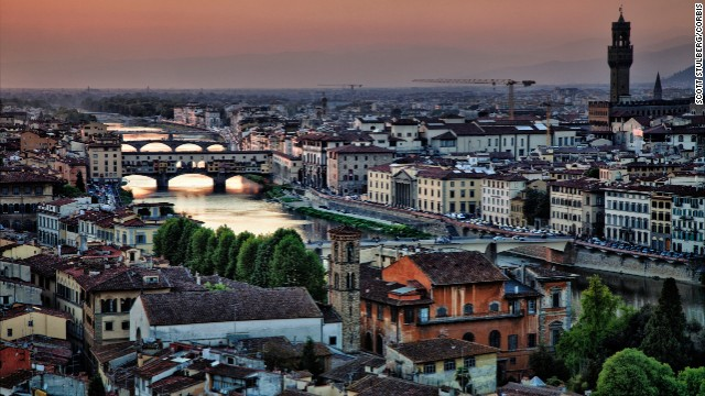 Couples who adore food and art will be wowed in the Renaissance city of Florence.