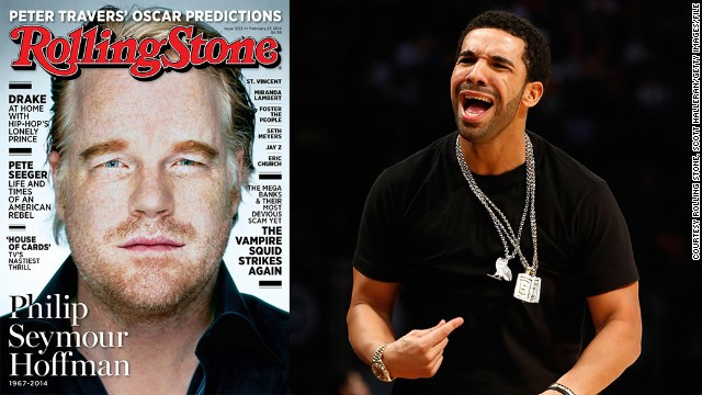 "Drake was the subject <a href='http://www.rollingstone.com/music/news/drake-high-times-at-the-yolo-estate-20140213' target='_blank'>of a glowing profile in a February issue of Rolling Stone</a>, but one quote had the Canadian rapper seeing red. The magazine claimed Drake was critical of Kanye West's album ""Yeezus,"" which Drake said never happened. To add insult to injury, Rolling Stone took the cover from Drake at ""the last minute,"" the rapper tweeted. ""I'm disgusted with that. RIP to Phillip Seymour Hoffman. All respect due. But the press is evil,"" he said on February 12. In the end, Drake wound up deleting his comments and apologizing."