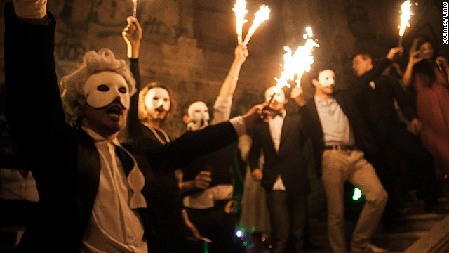 "Vintage masks, open flames, and a secret location? It must be ""We are the Oracle"" (WATO), Parisian party planners who transform the city's grand and abandoned buildings for one-off soirees. Here are a few more reasons why the French capital is a whole lot cooler than you think..."