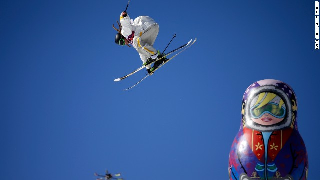 Swedish slopestyle skier Henrik Harlaut is proud of his look, consisting of very low-hanging pants and visible underwear.