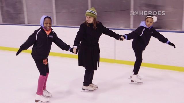 Para las patinadoras de Harlem, no se trata del oro olímpico