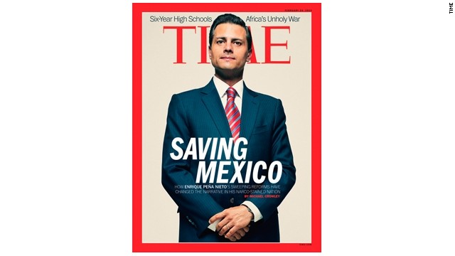 "Para la revista 'Time', Peña Nieto está ""salvando a México"""