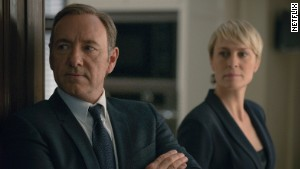 Kevin Spacey and Robin Wright in Netflix\'s hit, \