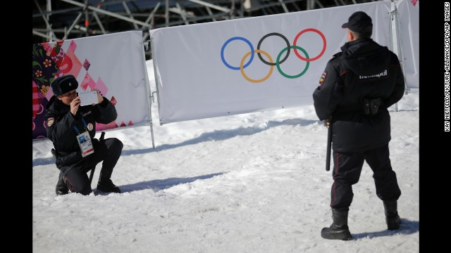 Photos: Security at the Sochi Olympics