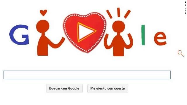 Google se pone romántico y regala chocolates por el Día de San Valentín