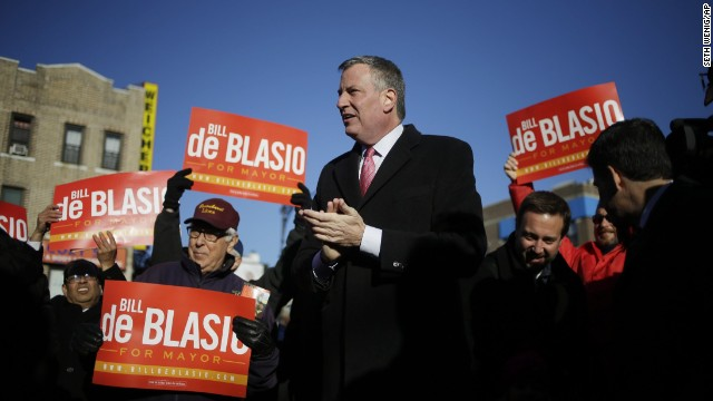 <strong>Do learn Spanish:</strong> As a candidate, New York Mayor Bill de Blasio scored points with many Latino voters with his Spanish fluency.