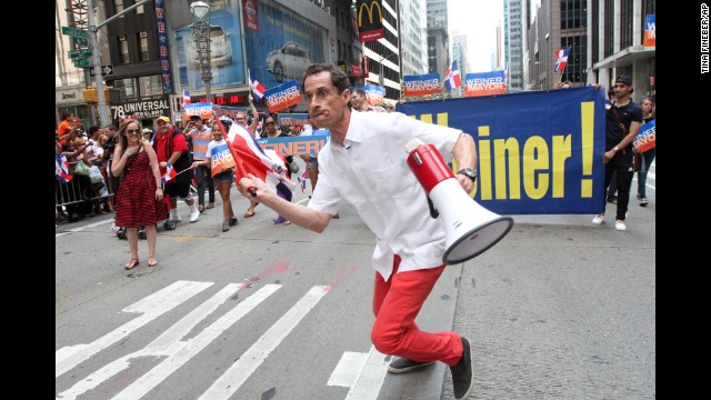 There's a fine line to walk in courting Latino voters; there's a difference between reaching out and pandering. Former congressman and New York mayoral candidate Anthony Weiner didn't win any votes when he appeared at a Dominican Day Parade last year wearing bright red pants, a guayabera -- a men's shirt popular in Latin America -- and running around with a bullhorn. Click through the gallery to see who gets it and who doesn't in courting the Latino vote.