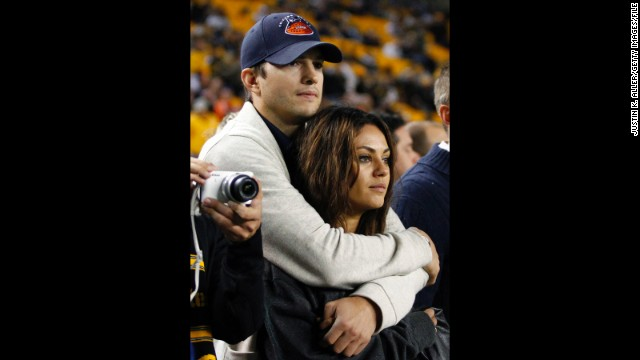 Ashton Kutcher's real life love, Mila Kunis, will appear on his show.