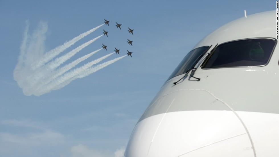 Exhibición aérea Singapur 2014