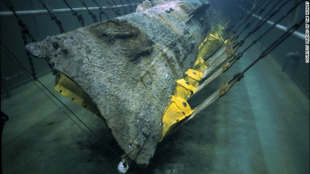 Delving into mysteries of submarine H.L. Hunley