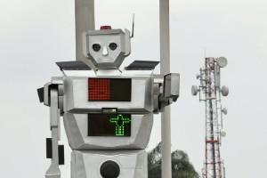 Agente de tráfico robótico