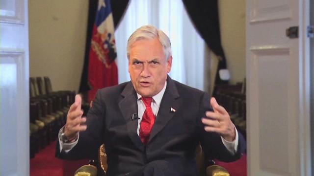 """Sebastián Piñera: """"No es verdad el dilema entre crecer y hacer justicia social"""""""