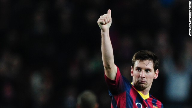 Only two players have scored more goals in the Spanish league than Lionel Messi.