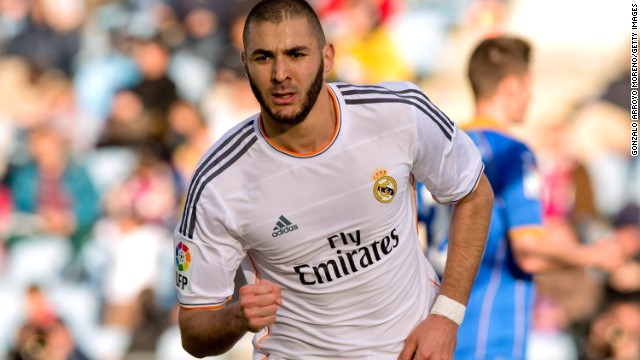 Karim Benzema was on the scoresheet for Real Madrid in a comfortable away victory at Getafe.