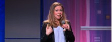 Will Chelsea Clinton go into the family business?