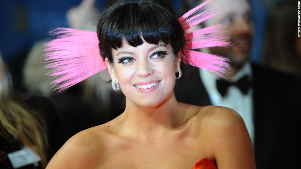 The <a href='https://www.bafta.org/' target='_blank'>British Academy of Film and Television Arts</a> hands out its film awards on Sunday, February 16, at the Royal Opera House in London. Here, Lily Allen poses on the red carpet. Click through to see other arrivals at the BAFTA awards: