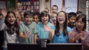 The class behind the Super Bowl ad