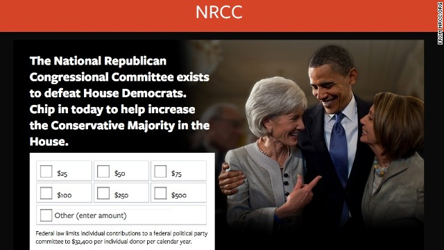 Republican campaign group tweaks websites, makes them less misleading