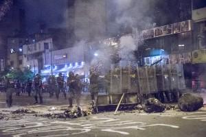 Protestas del 15F en Caracas