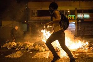 Protestas del 15F en Venezuela