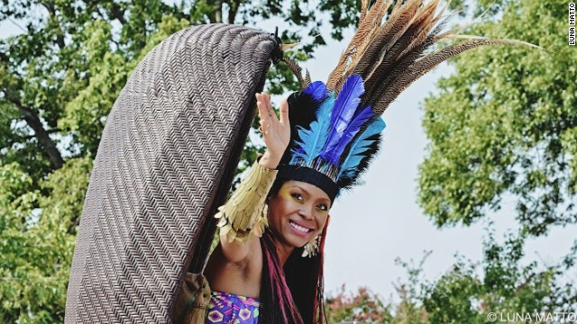 "Cape Town International Jazz Festival is touted as ""Africa's Grandest Gathering."" Every year it boasts five stages and over 40 artists performing over two nights. Pictured is U.S. singer Erykah Badu, who will perform at the 2014 event."