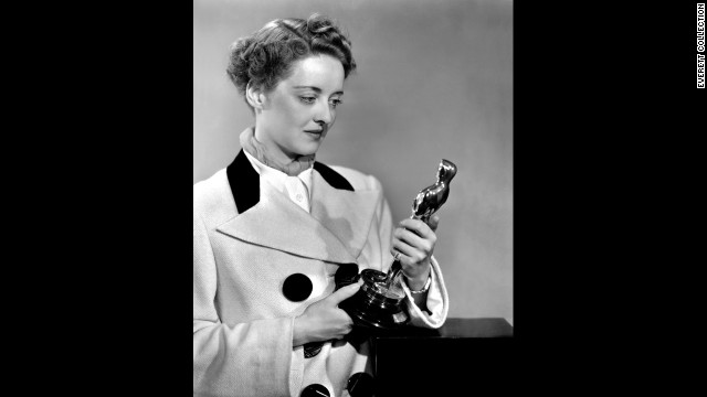"Bette Davis won her second Oscar in 1939, this time for ""Jezebel."""