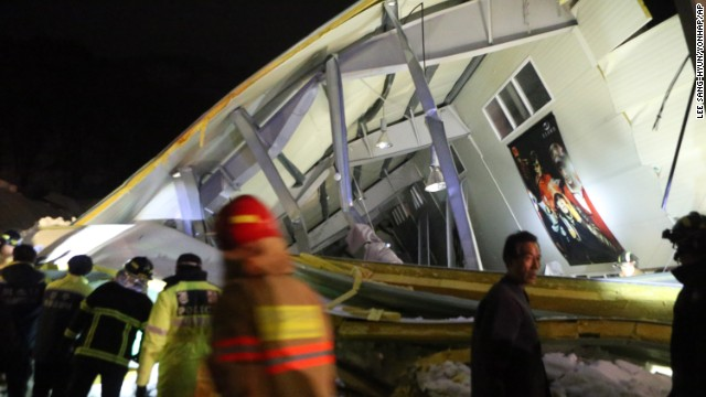 South Korea building collapse