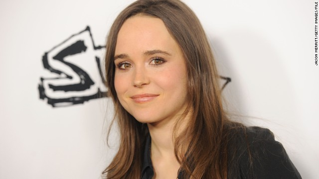 Ellen Page overwhelmed by support after she comes out