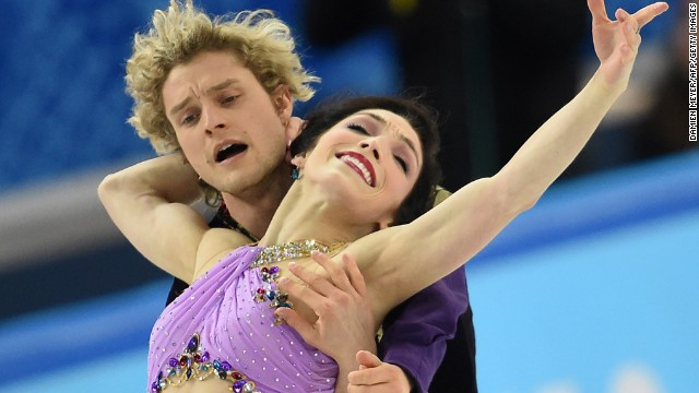 Sixteen years of hard work together finally paid off for the ice dancers, who won silver four years ago in Vancouver.