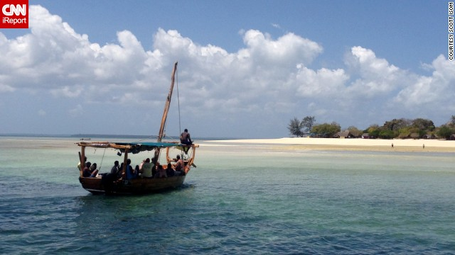 Tour guide <a href='http://ireport.cnn.com/docs/DOC-1081553'>Scott Isom</a> shot this photo on Menai Bay, on the southern end of Zanzibar's Unguja Island, during a day-long Indian Ocean safari that included snorkeling, swimming in a mangrove lagoon, spotting dolphins and a seafood barbecue lunch.