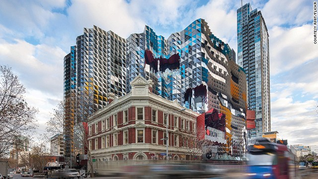 RMIT University in Melbourne invested a total of $600 million in this building and the new RMIT Design Hub. The building has a five-star Green Star rating from the Green Building Council of Australia (GBCA). <strong>Architects:</strong> Lyons Architects.