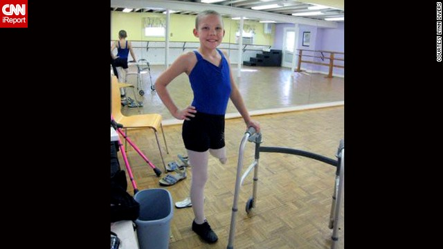 """Alyssa Divers died on December 31, 2012, just shy of her 11th birthday. """"I loved her and her wisdom, wit and intuitiveness,"""" Graham said. Despite an amputation and severe pain, """"she continued to dance and dream and be silly throughout it all. I think of her every day. I aspire to live like Alyssa."""""""