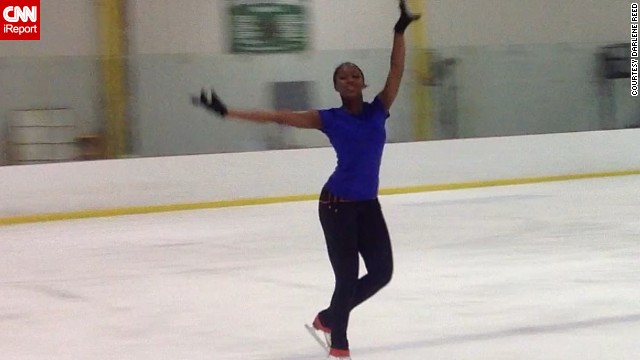 The teen from Westhampton, New Jersey, is back on the ice this year after spending a few months recovering from a broken tibia.